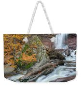 Autumn At Kaaterskill Falls Weekender Tote Bag