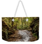 Autumn At Mill Creek Weekender Tote Bag