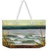 Autumn At The Lake Weekender Tote Bag