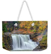 Autumn At The Lower Falls Weekender Tote Bag