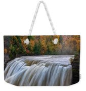 Autumn At The Middle Falls  Weekender Tote Bag