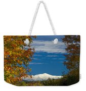Autumn At The Rocks Estate Weekender Tote Bag