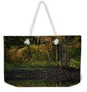 Autumn At Wrights Pond Weekender Tote Bag