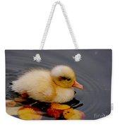 Autumn Baby Weekender Tote Bag by Jacky Gerritsen