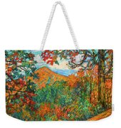 Autumn Beauty From Sharp Top Weekender Tote Bag