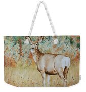 Autumn Beauty- Mule Deer Doe  Weekender Tote Bag