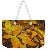 Autumn Beech  Weekender Tote Bag by Michael Peychich