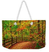 Autumn Bend - Allaire State Park Weekender Tote Bag