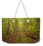 Autumn Birch Woods Weekender Tote Bag