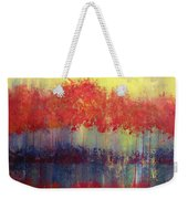 Autumn Bleed Weekender Tote Bag