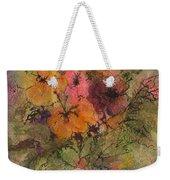 Autumn Blooms Weekender Tote Bag
