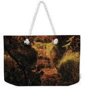 Autumn By The Argyle Creek Weekender Tote Bag