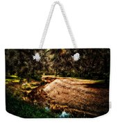 Autumn By The Creek Weekender Tote Bag