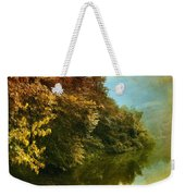 Autumn Canvas Weekender Tote Bag