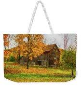 Autumn Catskill Barn Weekender Tote Bag
