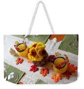 Autumn Centerpiece Weekender Tote Bag