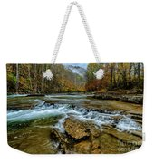 Autumn Cherry Falls Elk River Weekender Tote Bag