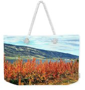 Autumn Cherry Orchard Weekender Tote Bag