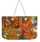 Autumn Collage Weekender Tote Bag