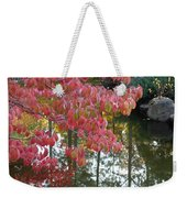 Autumn Color Poster Weekender Tote Bag