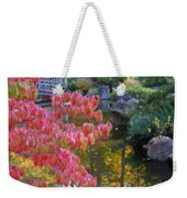 Autumn Color Reflection - Digital Painting Weekender Tote Bag