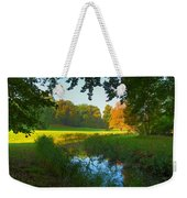 Autumn Colors In A Park Weekender Tote Bag
