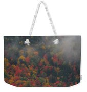 Autumn Colors In The Clouds Weekender Tote Bag