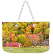 Autumn Colors Near Lake Ainslie  Weekender Tote Bag