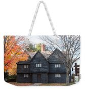 Autumn Comes To The Witch House Weekender Tote Bag