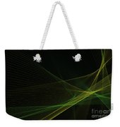 Autumn Computer Graphic Line Pattern Weekender Tote Bag
