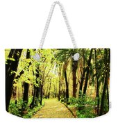 Autumn Corridor Weekender Tote Bag