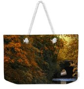 Autumn Country Bridge Weekender Tote Bag