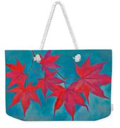 Autumn Crimson Weekender Tote Bag by William Jobes