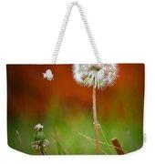 Autumn Dandelion Weekender Tote Bag