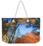 Autumn Day Weekender Tote Bag