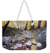 Autumn Deer Weekender Tote Bag