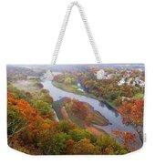 Autumn Down Below Weekender Tote Bag