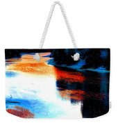 Autumn Down By The River Weekender Tote Bag