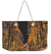 Autumn Drive 2 Weekender Tote Bag