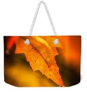 Autumn Drops Weekender Tote Bag