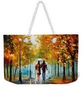 Autumn Elegy Weekender Tote Bag