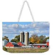 Autumn Elk Farm Weekender Tote Bag