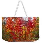 Autumn Experience Weekender Tote Bag