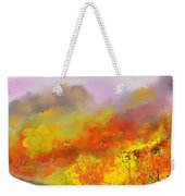 Autumn Expression Weekender Tote Bag
