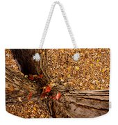Autumn Fall Weekender Tote Bag