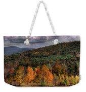 Autumn Fencerow Weekender Tote Bag