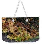 Autumn Ferns Weekender Tote Bag