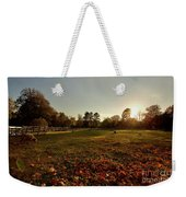 Autumn Field With Sheep Weekender Tote Bag