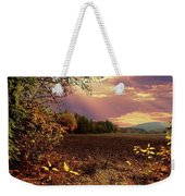 Autumn Fields Weekender Tote Bag
