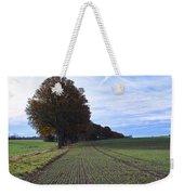 Autumn Fields, Syke, Germany Weekender Tote Bag